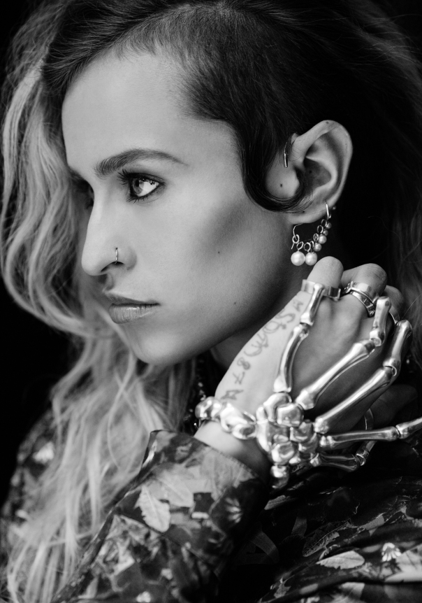 Alice Dellal for Madame Figaro: Photography by Alexandre Tabaste / Make-up by Megumi Matsuno