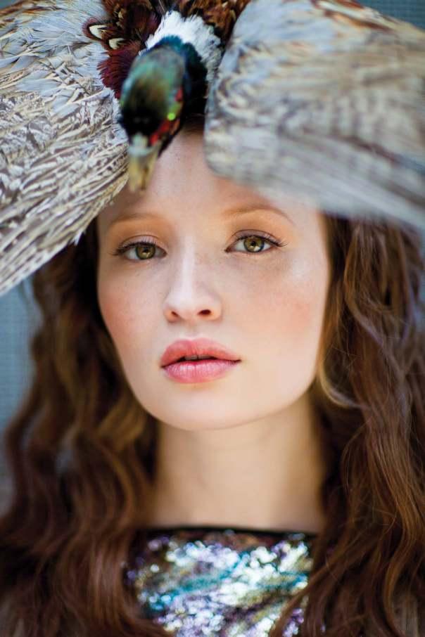 Emily Browning for Bullett Magazine / Photography: Simon Procter