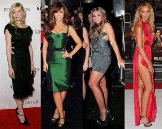 Celebrity style: party dressing hits and misses on MSN Fashion