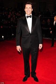Jon Hamm - Orange British Academy Film Awards 2012 - Grooming by Carlos Ferraz