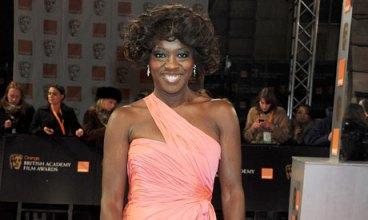 Viola Davis - BAFTA Awards 2012 - Make-up by Ginni Bogado / Hair by Jonothon Malone