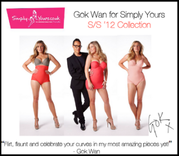 Gok Wan's Simply Yours Collection
