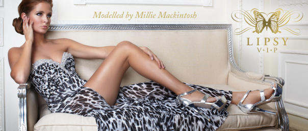 Millie Mackintosh models Lipsy - Make-up by Lisa Valencia