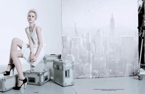 125 Magazine - Stylist, Faye Sawyer / Photographer, Perry Curties