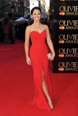 Susannah Fielding at The Olivier Awards - styling by Cheryl Konteh