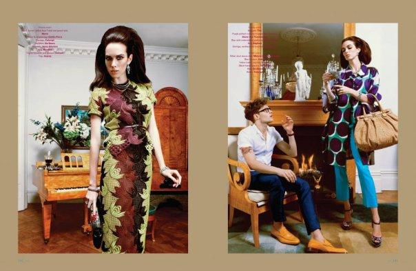 JFW Magazine - Photography, Gael Roussel /Hair, Craig Marsden