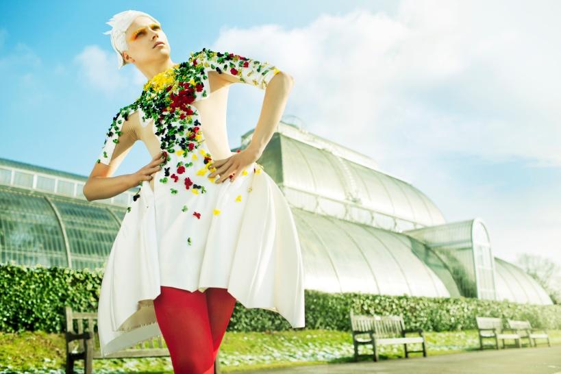 Qatar Airways Oryx Premium Magazine - make-up by Megumi Matsuno
