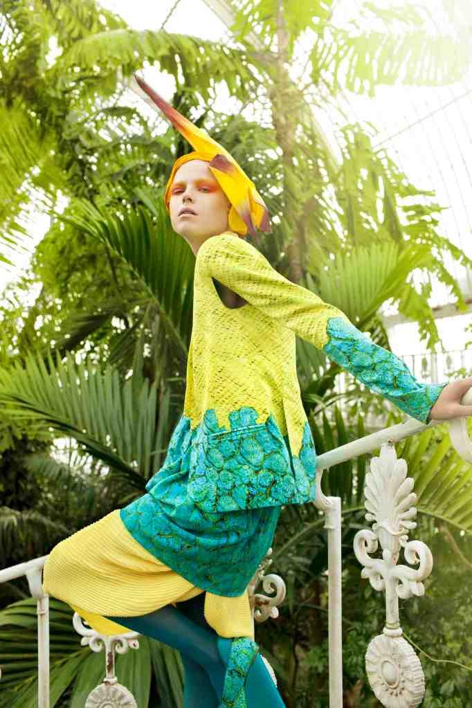 Qatar Airways Oryx Premium Magazine - Photography by Toufic Araman /make-up by Megumi Matsuno