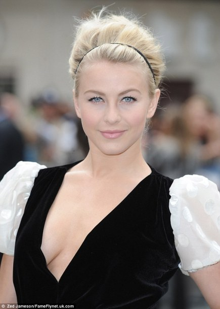 Julianne Hough at 'Rock of Ages' film premiere - Hair by Carlos Ferraz