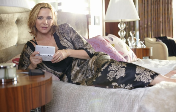 Kim Cattrall for Nintendo DS - Styling by Cheryl Konteh