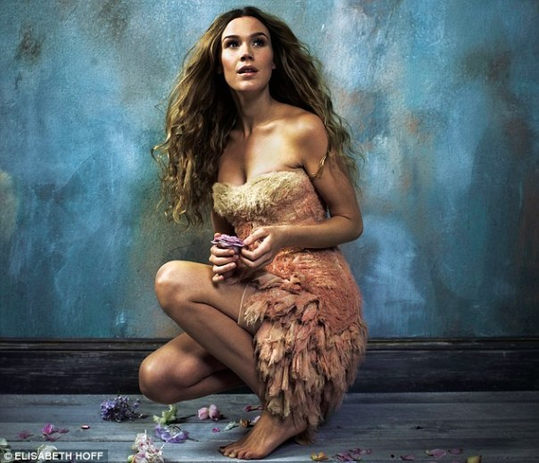 Joss Stone for Live Magazine - Hair by Nina Pach