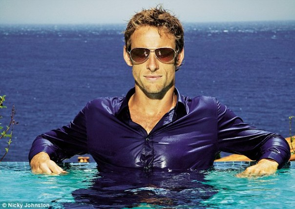 Jenson Button for Live Magazine - Styling by Maureen Vivian