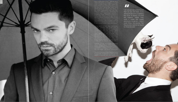 Dominic Cooper for New York Moves Magazine - Grooming by Carlos Ferraz