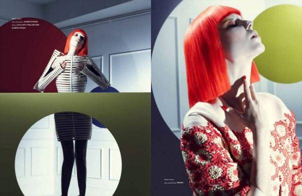 Makeup by Megumi Matsuno - Photographer Satoshi Minakawa - Vision Magazine China