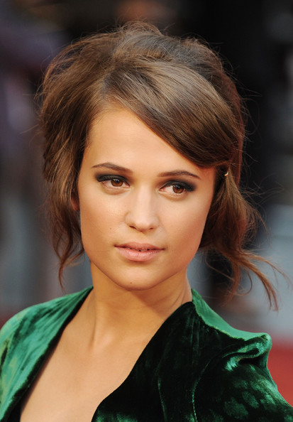 Alicia Vikander - Hair by Carlos Ferraz