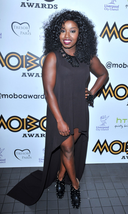 Hair by Jonothon Malone - Mischa B at the MOBO awards