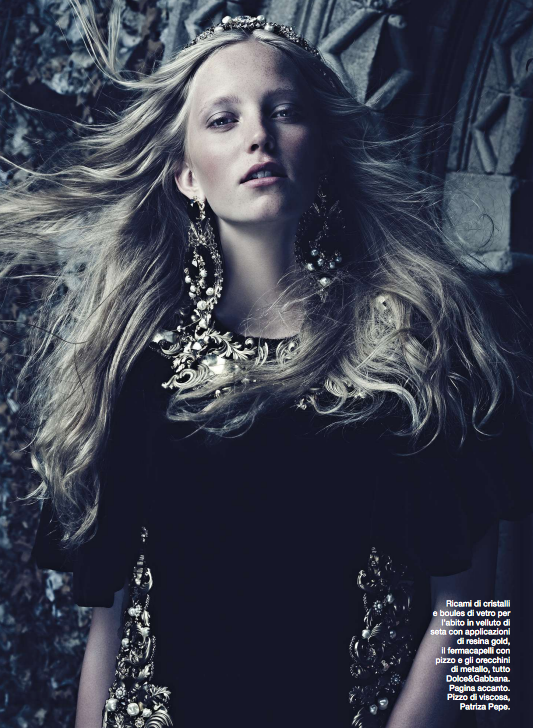 Hair by Jonothon Malone - Photographer Jason Hetherington - La Reppublica