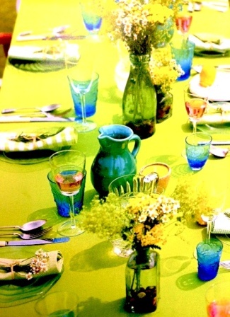 Pippa Middleton's 'Celebrate' - table styling by Sally Cullen