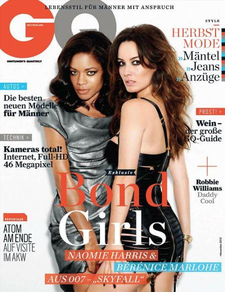 German GQ - Berenice Marlohe hair by Jon Chapman