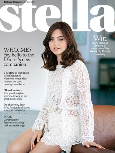 Jenna Louise-Coleman for Stella Magazine - Hair by Carlos Ferraz