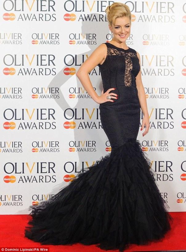 Sheridan Smith Styled by Cheryl Konteh