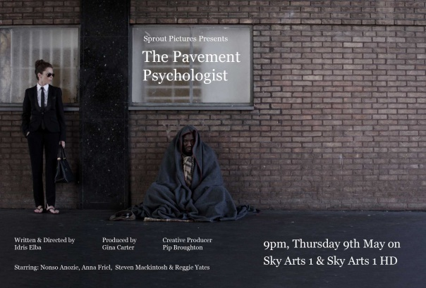 Styling by Cheryl Konteh: The Pavement Psychologist tonight 9pm, Sky Arts 1 & Sky Arts 1 HD